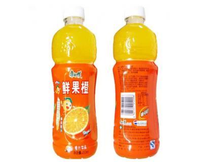Saft-Flaschen-Aufkleber